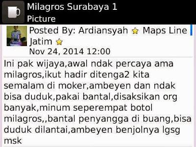 √ Harga Milagros di Kampung Melayu ⭐ ✅ WhatsApp 0813 2757 0786