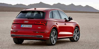 New Audi Q5 SUV Rear Hd Image