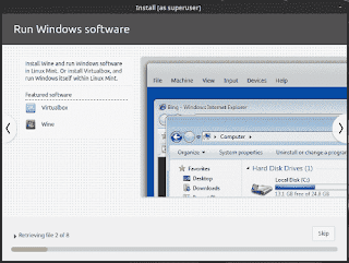 Run windows softwares using wine in linuxmint