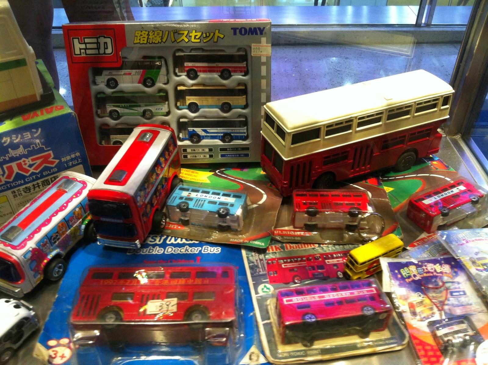 CLK's Model Car World * 車天車地 CLK: 巴士歷史模型展覽2012 @ 九龍灣淘大商場 (Part 1 of 3)