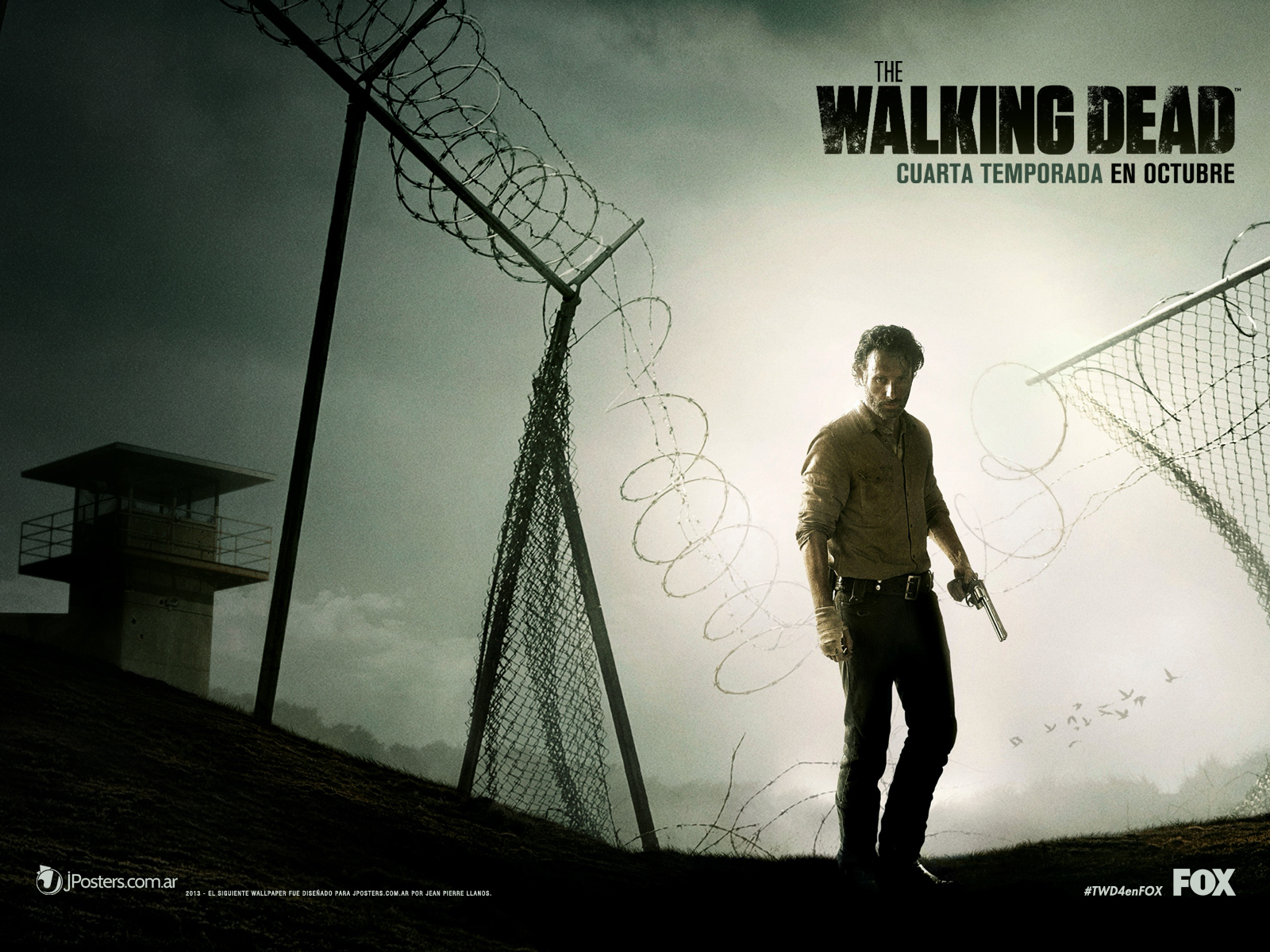 Wallpaper latino para la 4ta Temporada de THE WALKING DEAD (Diferentes