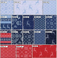 Nordic Stitches fabrics from Moda