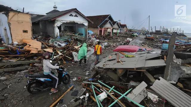 5 Fakta Terbaru Diungkap BNPB Usai Tsunami Selat Sunda