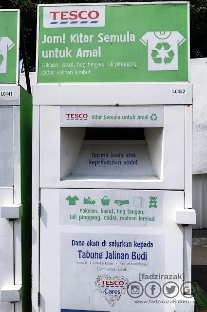 Tempat recycle baju Shah Alam