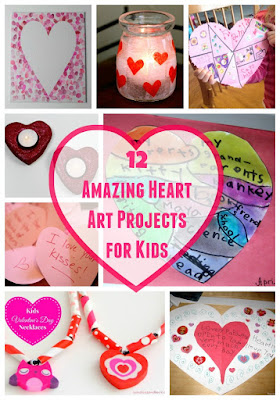 Heart Art Projects for Kids