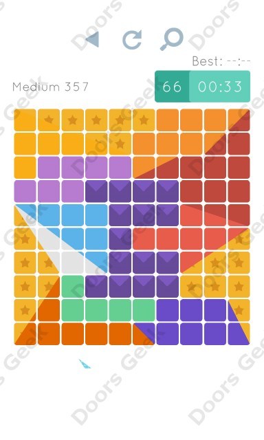 Cheats, Walkthrough for Blocks and Shapes Medium Level 357