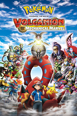 Pokémon The Movie Volcanion 2016 DVD R1 NTSC Latino