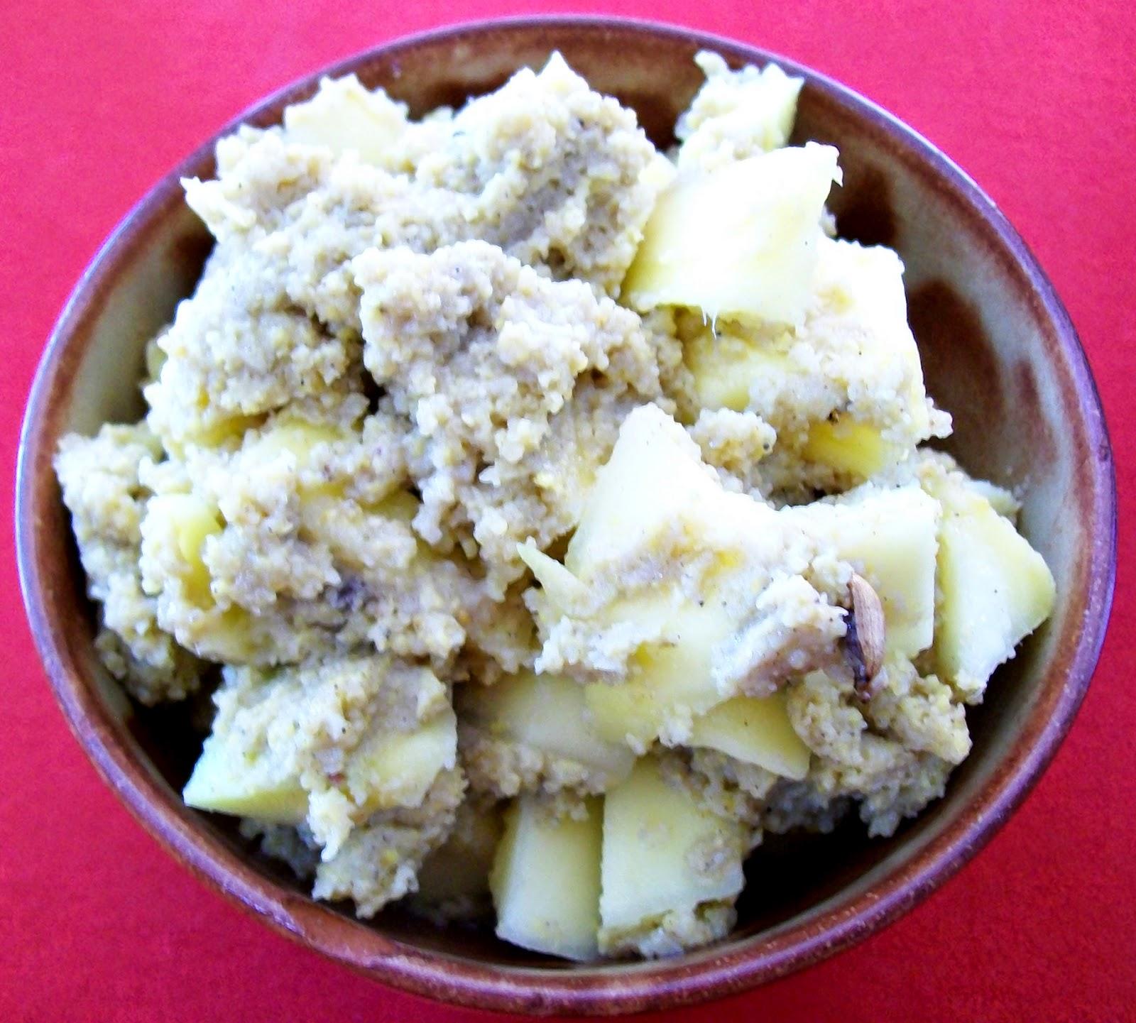rezept vegan Mangodessert dessert