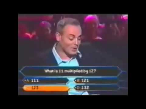 Who wants to be a millionaire fails
