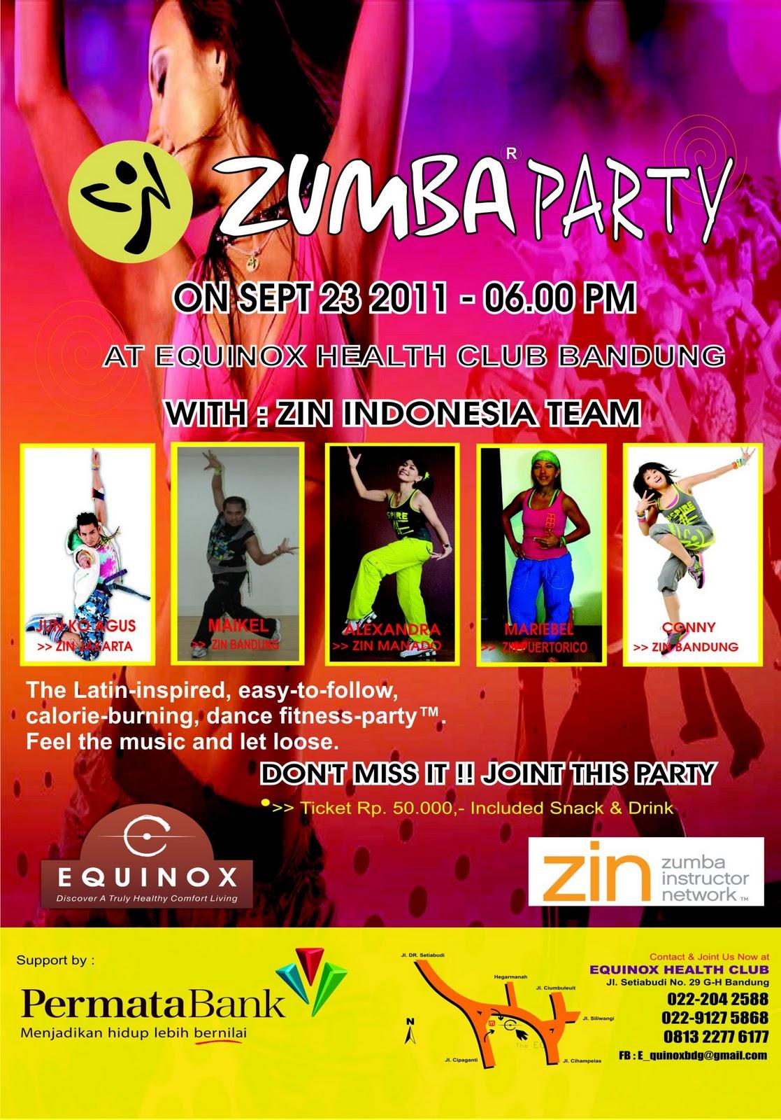 Zumba Dance Aerobic Workout Kartika ZUMBA - BALI INDONESIA