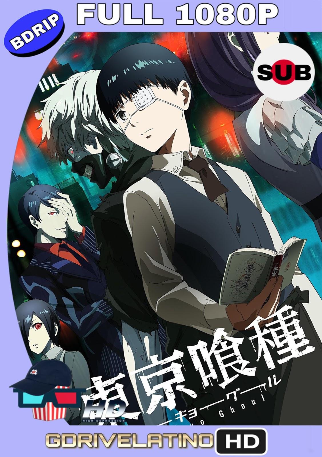 Tokyo Ghoul (2014) (12/12 + 2 OVAs) BDRip 1080p (Japonés) MKV