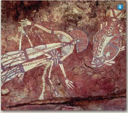 Australian Aboriginal Cave Painting