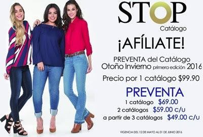 preventa stop catalogos OI 2016