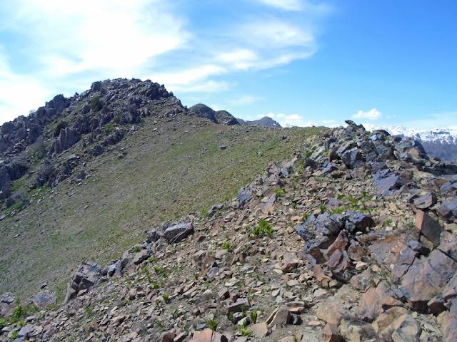 Пик Гусхор, хребет Чиликак, Варзобское ущелье, горы Таджикистана - фото-обзор похода
