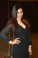 Kyra Dutta in black At Rogue Movie Audio Launch ~  050.JPG