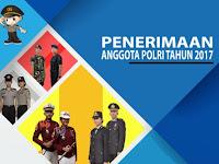Alur Tahapan Seleksi  Pendaftaran Online Anggota Polri 2017, 2018, 2019, 2020