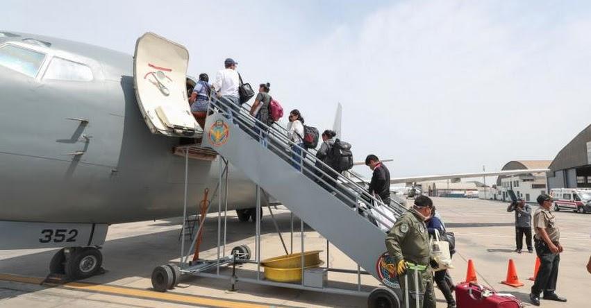 Gobierno autoriza vuelos para el retorno de peruanos varados en el exterior