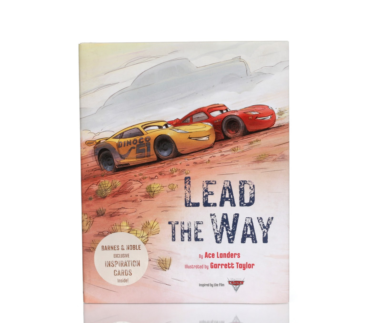 "disney pixar Cars 3 ""Lead the Way"" Book Review"
