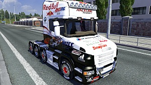 Racing skin for Scania T & trailer