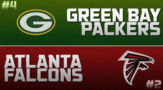 Falcons Packers NFC Championship Simulation