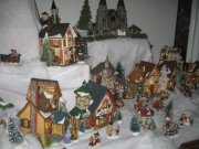 Christmas village directions