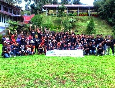 Serunya Outbound Family Gathering di Lembah Mandiri (Puri Mandiri) - Gadog | Paket Outbound Puncak Bogor | Family Gatering | Outing | Rafting | Paintball