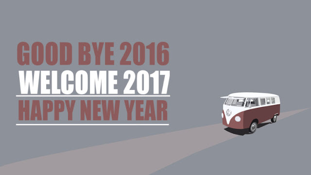 Good Bye 2016 Welcome Happy New Year 2017 Images