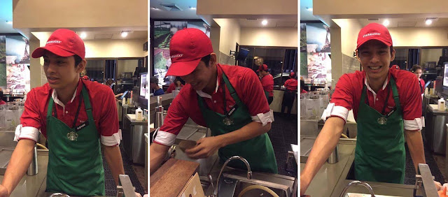This Picture Of A Handsome Starbucks Barista Has Gone Viral And Girls Are Now Looking For Him! MUST SEE!