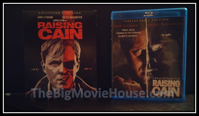 Raising Cain blu-ray from Scream Factory