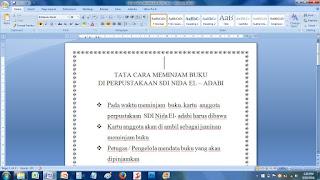 Soal UTS TIK (Komputer) Kelas 4 SD Semester 2 / Genap