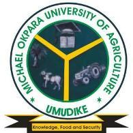 Michael Okpara University Of Agriculture, Umudike (MOUAU) Admission List