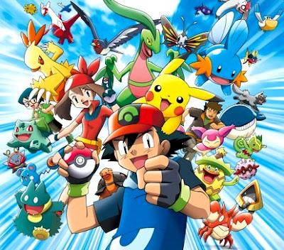 Dibujo de Pokémon y todos sus personajes