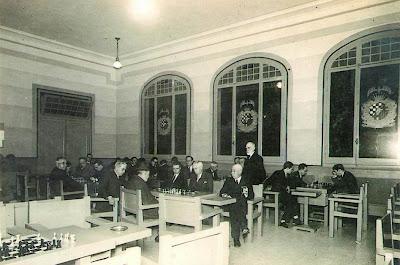 Sede del Club Ajedrez Barcelona en la Rambla de Cataluña, nº 4