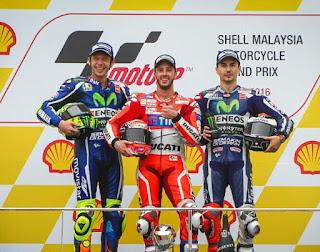 Inilah juara di motogp sepang circuit malaysia