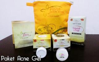 Cream Florin Paket Anti Jerawat Bandel / Acne Gel (Kemasan Baru)
