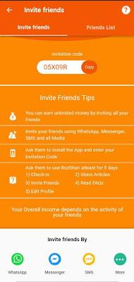 Get Free Earn Paytm Cash using on Rozdhan App | ₹50 On Signup+₹5/Refer | vrsavani