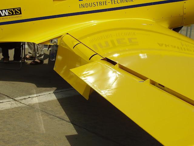 Flaps pada pesawat terbang