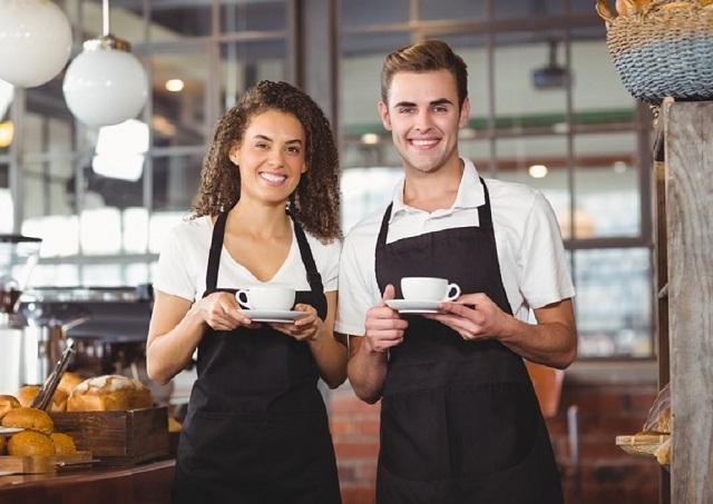 revista empleo  camarero  a para restaurante