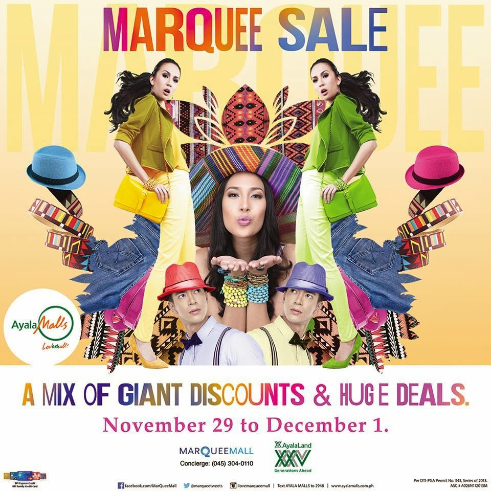Manila Shopper Marquee Mall Big Blowout Sale Nov 29 Dec1