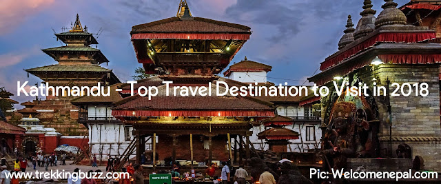 Kathmandu Top Travel Destination to Visit in 2018