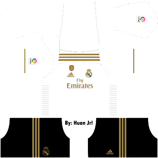 Kit DLS Real Madrid Home
