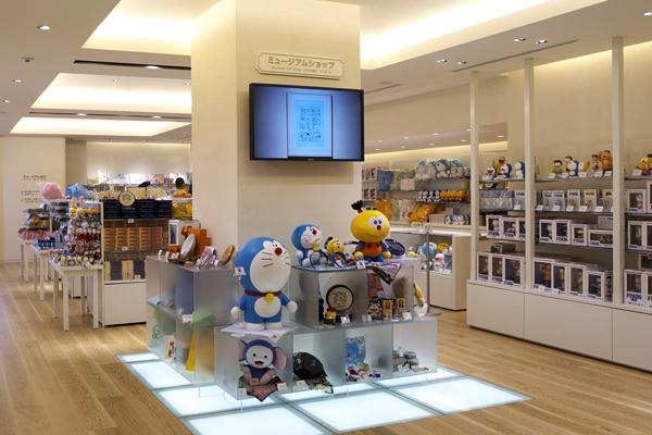 Image result for toko souvenir di Fujiko F. Fujio Museum