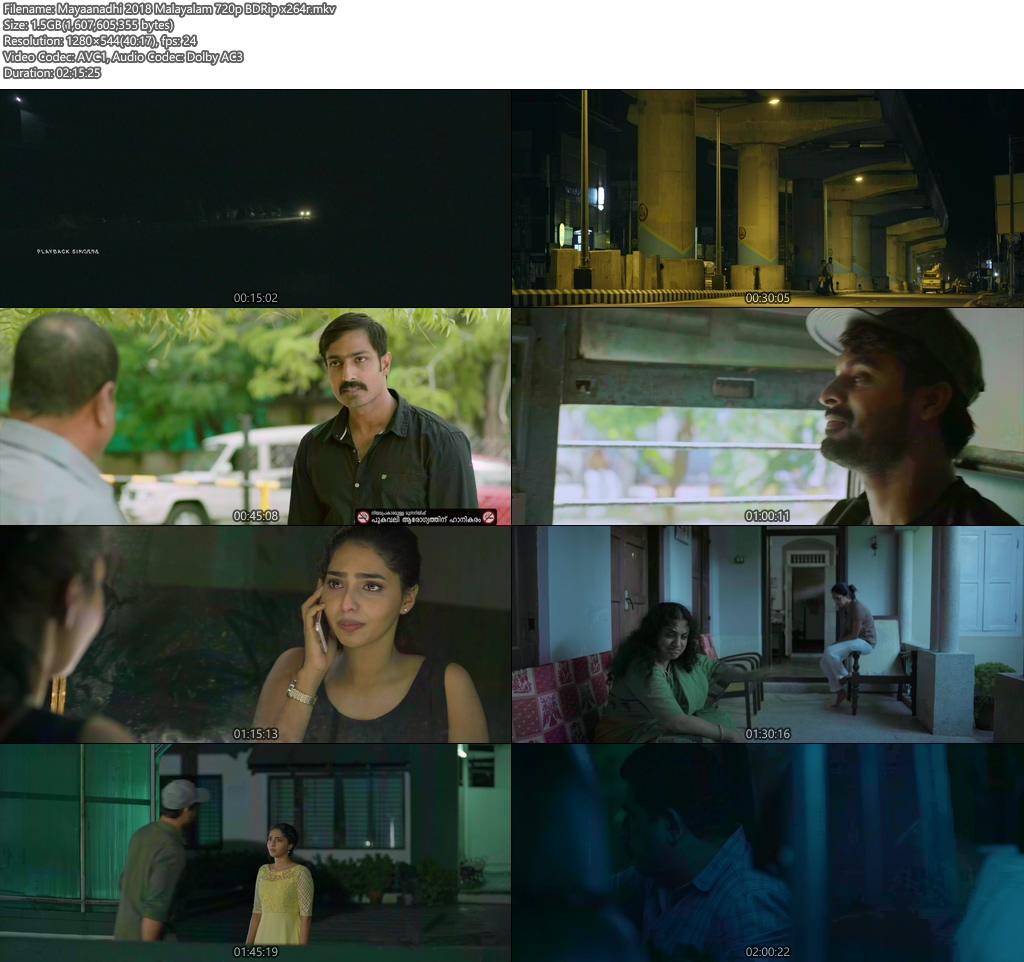 Mayaanadhi 2018 Malayalam 720p BDRip x264r | 480p 300MB | 100MB HEVC Screenshot