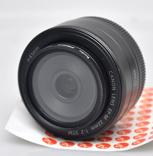 Jual Canon EF-M 22mm f2 STM ( for Mirrorless Canon )