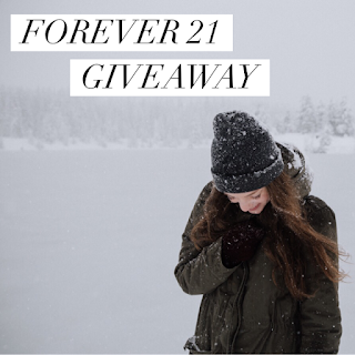 Enter the Forever 21 Giveaway. Ends 1/26. Open WW