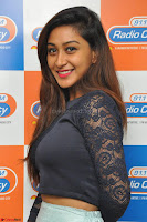 Shravya in skirt and tight top at Vana Villu Movie First Song launch at radio city 91.1 FM ~  Exclusive 25.JPG