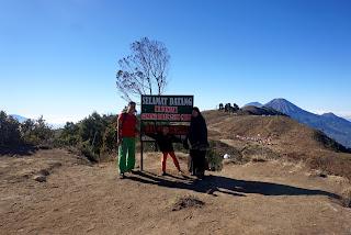 Gunung Prau Jalur Dieng