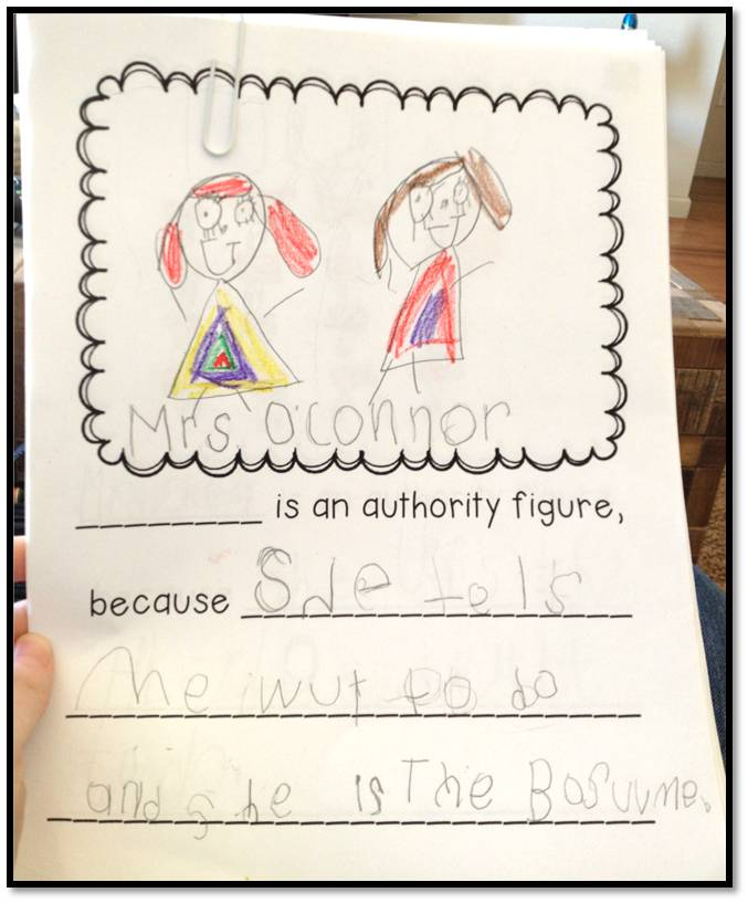 Authority Figures, Place Value and Poems | Teaching With ...