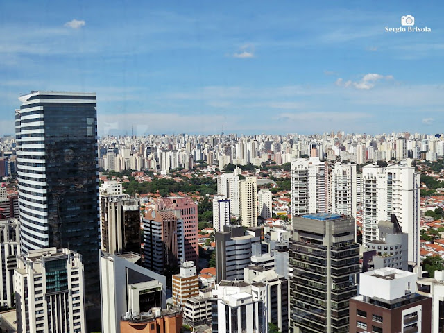 Panorâmica de parte de Cidade Monções e do Brooklin Paulista
