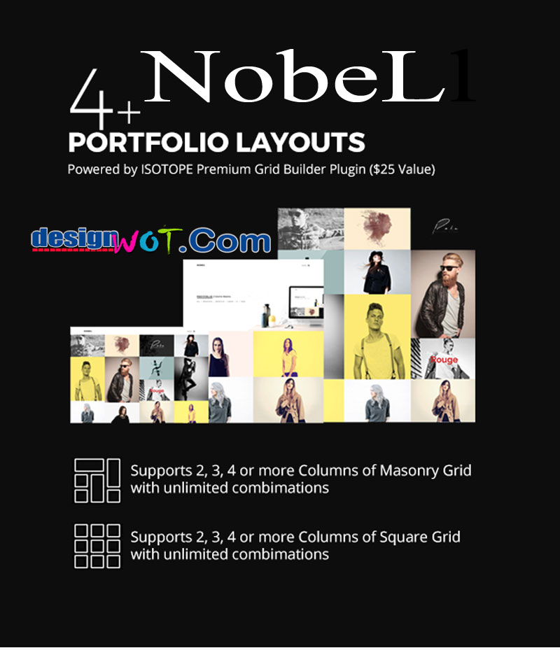 Nobel Multi-Concept WordPress Theme
